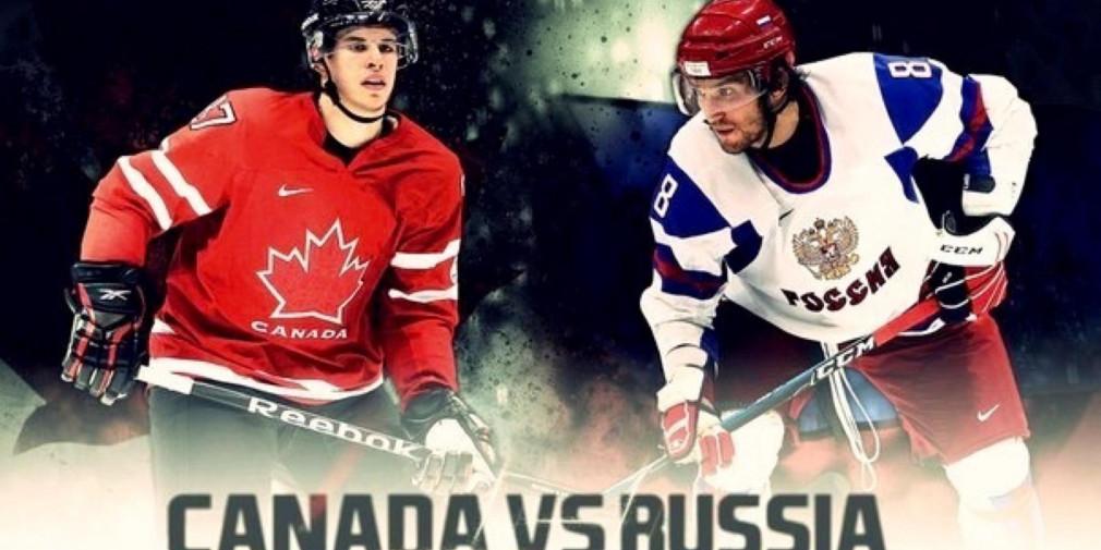 Смотреть прямую трансляцию хоккей Россия-Канада онлайн
