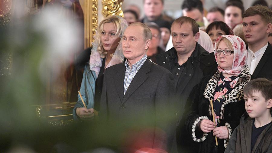 Поздравления Путина и Кирилла с Рождеством Христовым