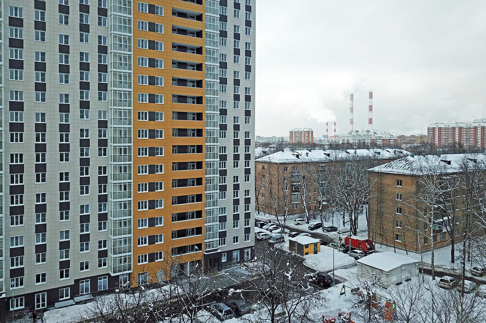 Началось заселение стартового дома по программе реновации жилья