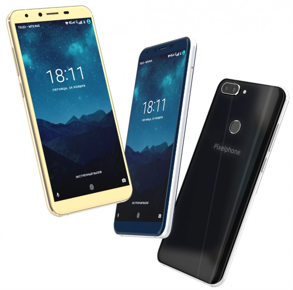 Pixelphone M1: российская компания представила первый смартфон