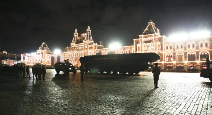 «Терминатор» и робот-танк: на репетиции парада Победы, ТТХ