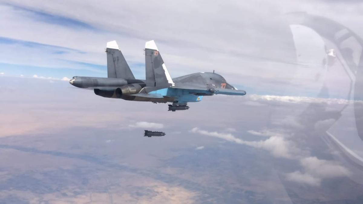 Истребитель ВКС РФ Су-30СМ потерпел аварию в Сирии. Оба летчика погибли