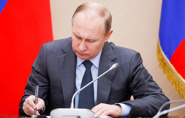 Структура нового правительства кабинета министров утверждена у Путина