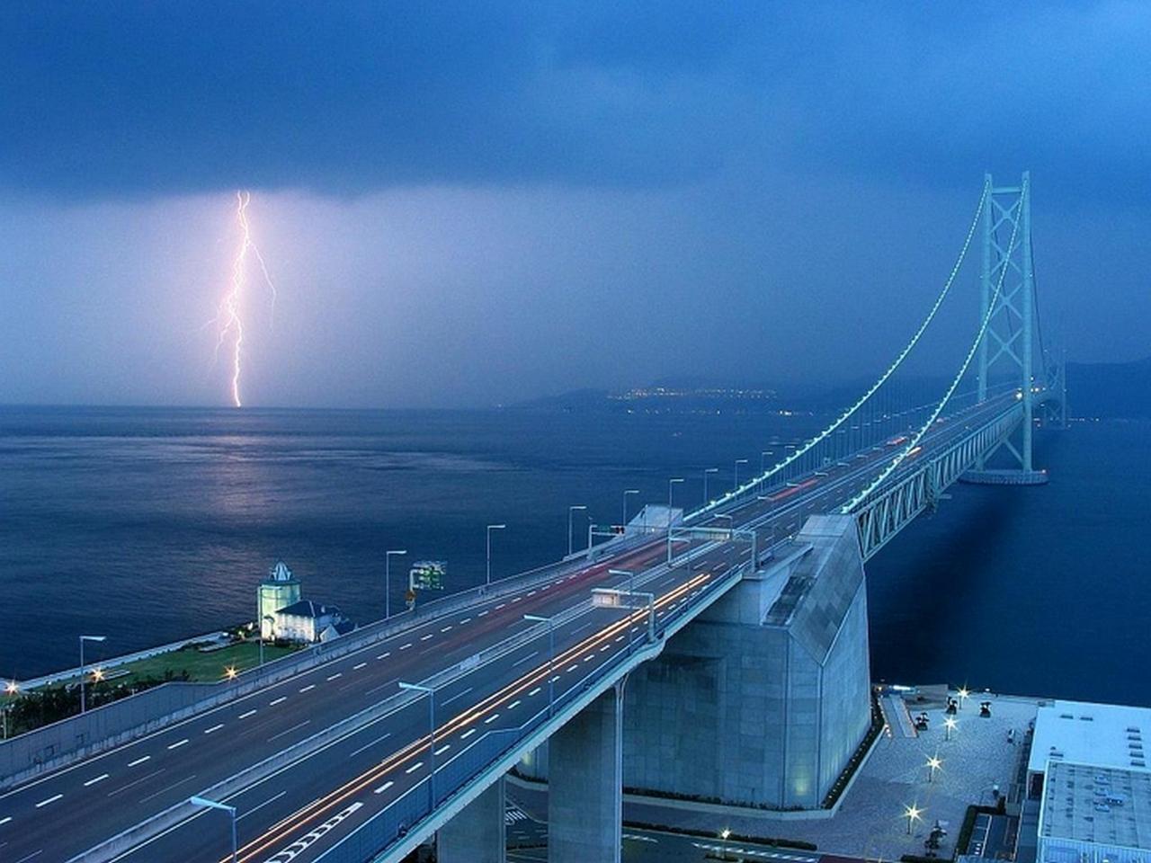 Схема движения на подъезде к Крымскому мосту для легковых и грузовых автомобилей