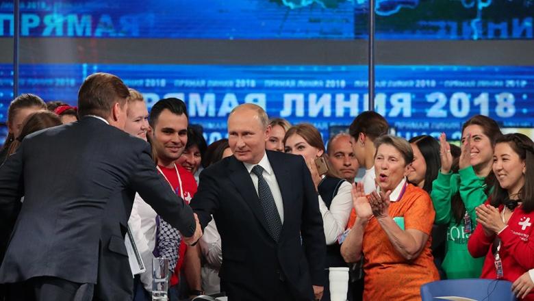 Краткий отчет о наиболее значимых высказываниях Путина на прямой линии с президентом