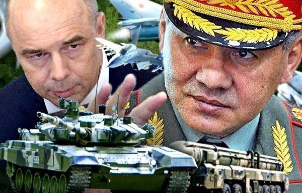 Первыми под финансовый нож пойдут военные