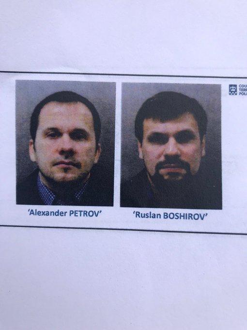 Кто такие россияне, отравившие Скрипалей. Фото, видео