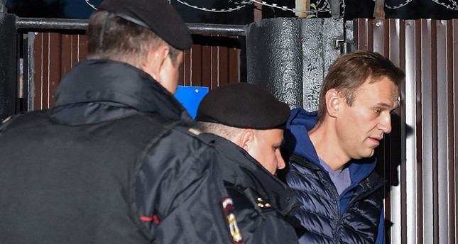 Где сейчас Навальный? А его опять арестовали на 20 суток!