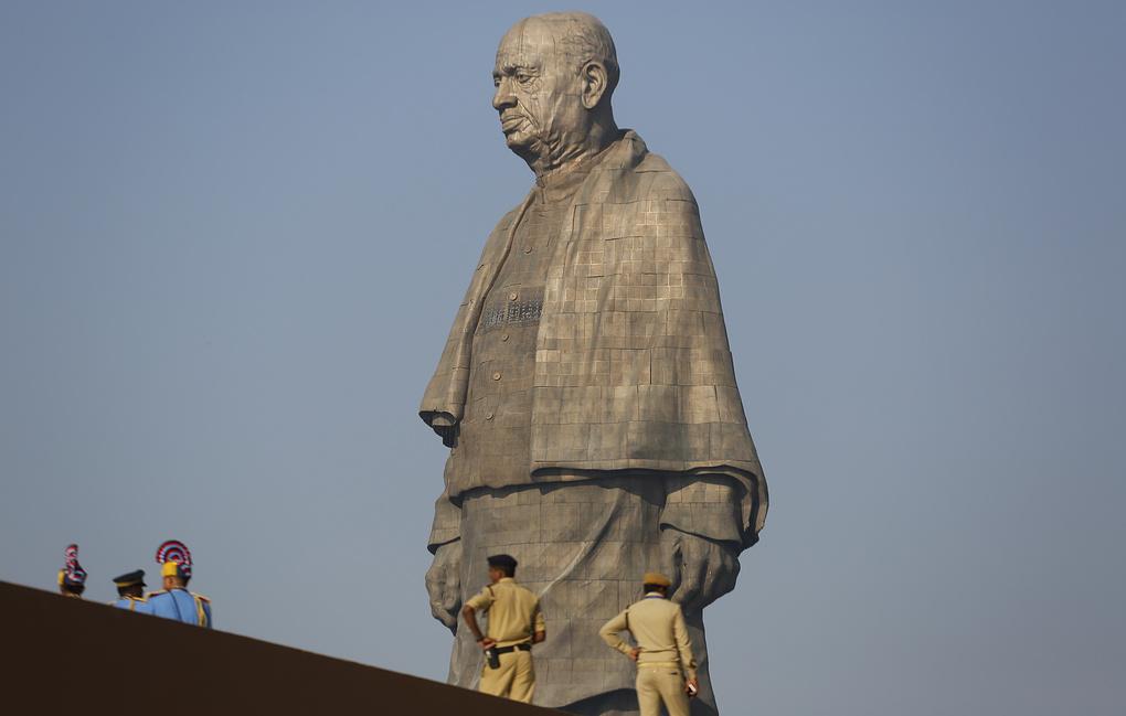 Что известно о самой высокой статуе в мире, которую построили в Индии