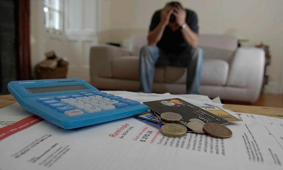 Долги по кредитам задержали в России  миллион заемщиков