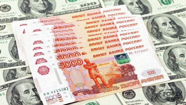 В феврале вероятный диапазон движения в паре доллар/рубль составит 65,5-68