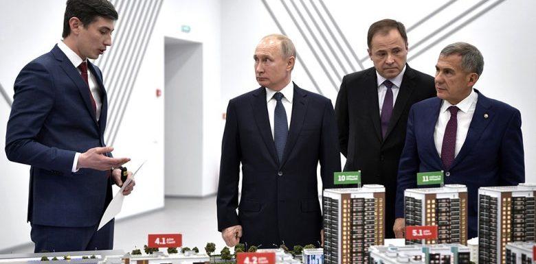 Путин рассказал о проектном финансировании и ценах на жилье