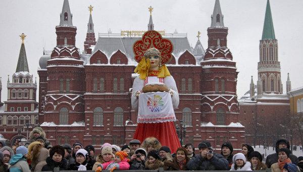 Куда пойти в Москве сегодня поесть блинов и погулять на Масленицу?